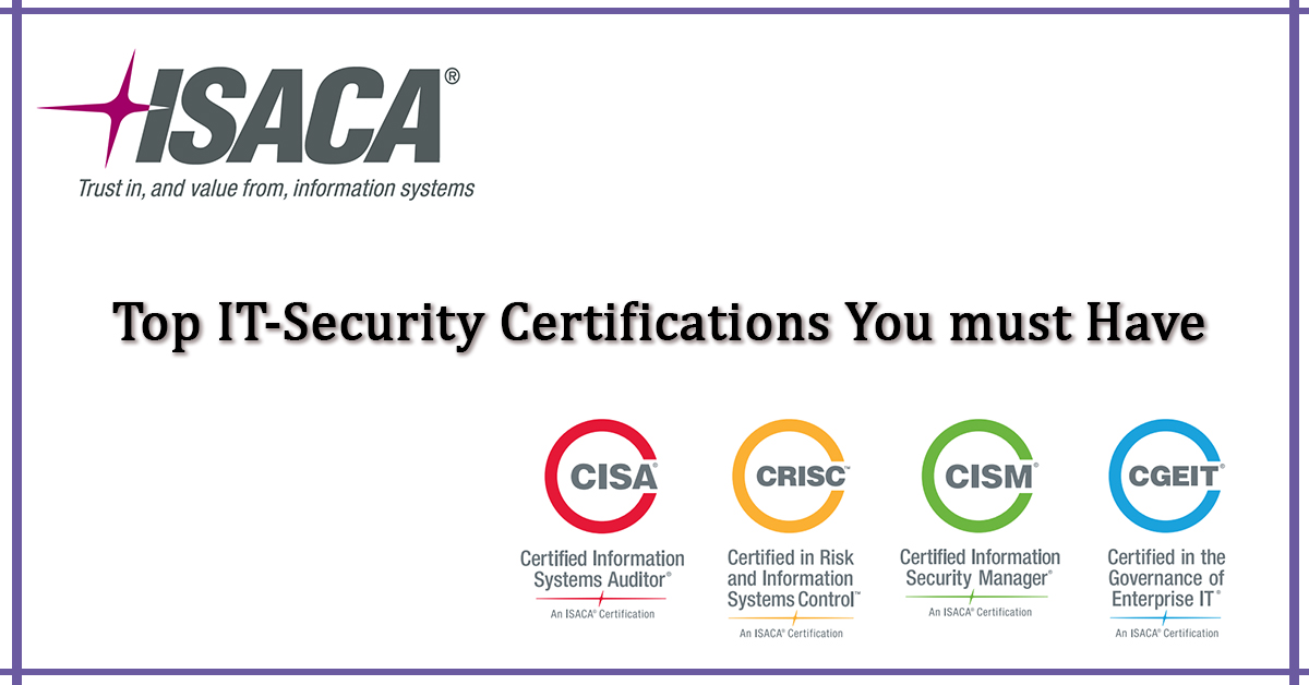 Top It Security Certifications You Must Have Blogs