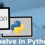 shelve in python